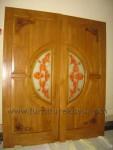 Daun Pintu Grafir Bunga Kode ( KPK 018 )