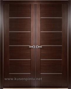 Brown Minimalis Kusen Pintu Rumah