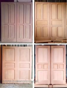 Contoh Desain Daun Pintu Rumah Kupu Tarung