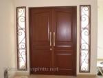 Contoh Kusen Pintu Rumah Modern Kode ( KPK 040 )