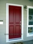 Contoh Kusen Pintu Warna Merah Kode ( KPK 042 )