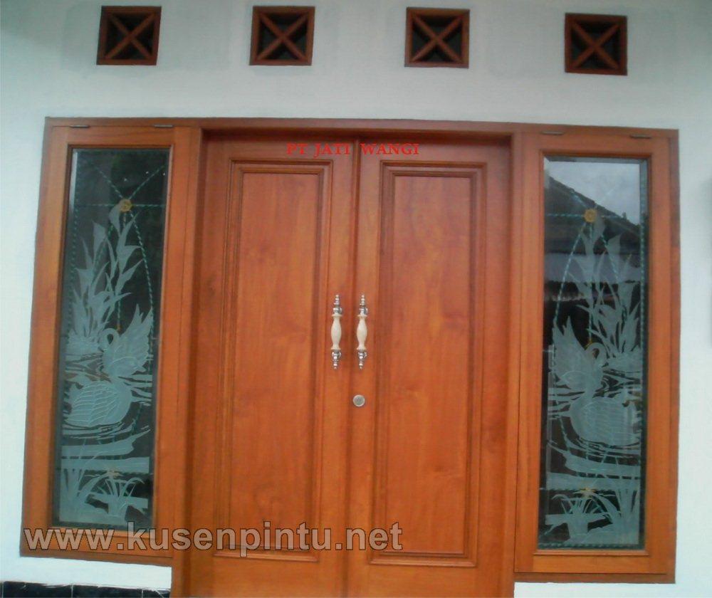 contoh kusen rumah minimalis terbaru kusen pintu jendela