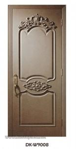 Daun Pintu Ukir Kayu Solid