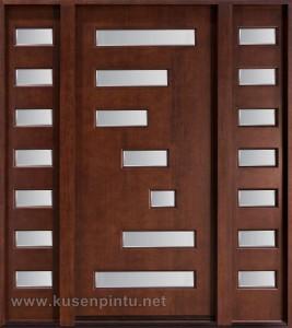 Desain Arsitektur Kusen Pintu Jati Jepara