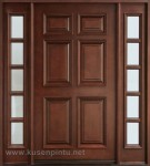 Desain Minimalis Klasik Kusen Pintu Jati Kode ( KPK 079 )