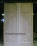 Desain Pintu Kayu Jati Solid Jepara Kode ( KPK 087 )