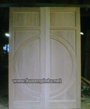 Desain Pintu Kayu Jati Solid Jepara