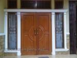 Desain Pintu Rumah Modern dan Jendela Kode ( KPK 095 )