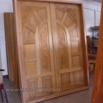 Desain Ukiran Pintu Rumah Kupu Tarung Kode ( KPK 096 )