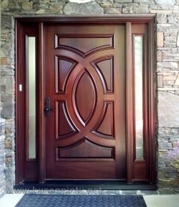 Kusen Jati Pintu Minimalis Modern