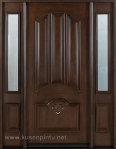 Kusen Pintu Jati Jepara Ukir Mahkota