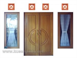 Kusen Pintu Jati Solid