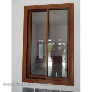 Kusen Pintu Jendela Sliding Kayu Jati