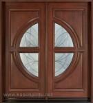 Kusen Pintu Kupu Tarung Minimalis Jati Kode ( KPK 162 )