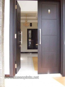 Kusen Pintu Minimalis Kayu Jepara