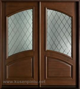 Kusen Pintu Rumah Kupu Tarung Brown