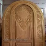 Kusen Pintu Rumah Ukir Mewah Atas Lengkung Kode ( KPK 174 )