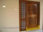 Kusen Pintu Rumah Ukiran Model Relief Kode ( KPK 175 )