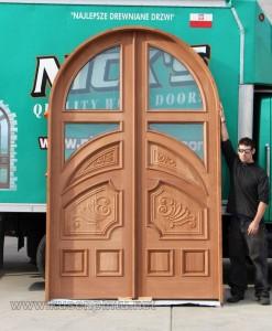 Mahogany Furniture Pintu Rumah Desain Istimewa