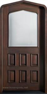 Mahogany Pintu Rumah Asli Buatan Jepara