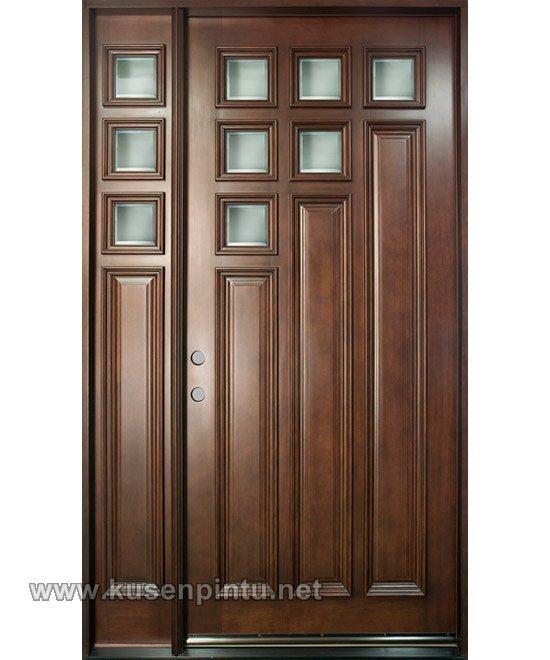 Minimalis desain pintu rumah jakarta kusen pintu jendela for Main door designs 2014