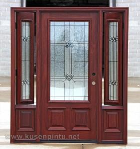 Model Pintu Penyekat Ruangan Jati Jepara