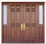 Model Pintu Rumah Minimalis Jati Kode ( KPK 205 )