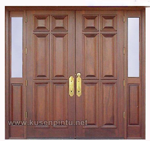 model pintu rumah minimalis jati kusen pintu jendela