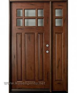 Outdoor Pintu Rumah Kayu Jati