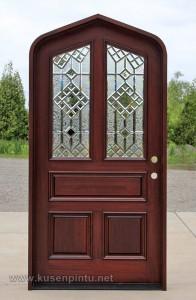 Pintu Rumah Model Lengkung Lancip