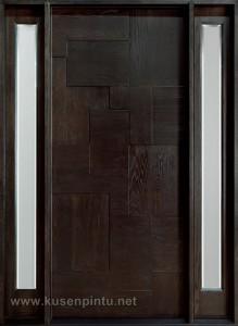 Pintu Rumah Jati Jepara Model Ketupat