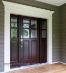 Pintu Rumah Brown Finishing Kode ( KPK 245 )