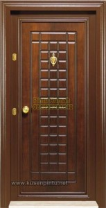 Pintu Rumah Minimalis Security Jati Jepara