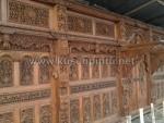 Contoh Kusen Pintu Gebyok Ukiran Jepara Panjang 12 Meter KPG 105