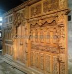 Kusen Pintu Gebyok Jati dengan Panjang 6 Meter KPG 183