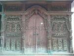 Kusen Pintu Gebyok Panjang 4 Meter Ukiran Solid KPG 227