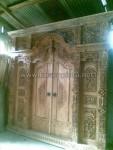 Kusen Pintu Gebyok Ukiran Jepara Ukuran 3 Meter KPG 237