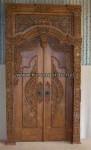 Pintu Gebyok Jawa Tanpa Srampat Bawah KPG 329