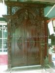 Pintu Gebyok Jepara Finishing Salak Tua KPG 339