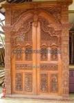 Pintu Ukir Gebyok Karawang Bali KPG 361