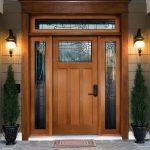 Pintu Utama Dengan Desain Modern Eropa KPK 399