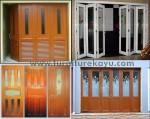 Pintu Garasi Jati Jepara Kode ( KP 012 )