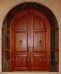 Pintu Rumah Utama Model Lengkung Kode ( KPK 003 )