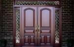 Furniture Mahogany Pintu Rumah Utama Kode ( KPK 103 )