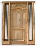 Harga Pintu Rumah Ukir Mahkota Kode ( KPK 113 )