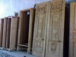 Jual Kusen Pintu Dengan Bahan Full Kayu Jati Kode ( KPK 124 )