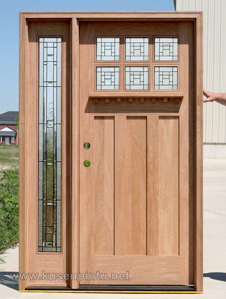 Kerajinan Daun  Pintu  Dengan Kayu Terbaru  Kusen Pintu  Jendela