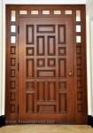 Kusen Daun Pintu Jepara Model Minimalis Kode ( KPK 136 )