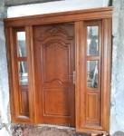 Kusen Pintu Jati Solid Penyekat Ruang Keluarga Kode ( KPK 151 )