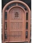Model Kusen Pintu Mahoni Desain Belanda Kode ( KPK 197 )